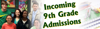 Incoming 9th Grade Admissions
